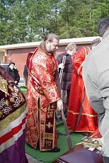 Burial of Protodeacon Nicholai Porshnikoff